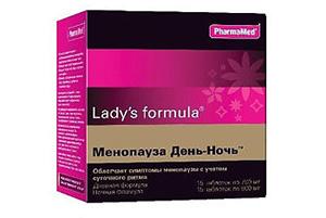 Ледис Формула при менопаузе: усиленная формула, день-ночь